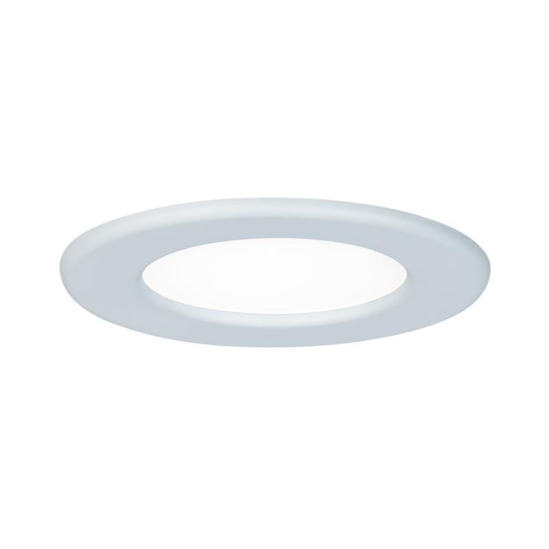 spot led encastrable extra plat 220v blanc 6w blanc neutre 390 lm paulmann. Black Bedroom Furniture Sets. Home Design Ideas