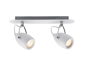 Plafonnier Drop LED Salle de Bain PAULMANN IP44 2X3,5W 230V Chrome