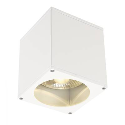 BIG THEO OUT plafonnier, carré, blanc, ES111, max. 75W SLV