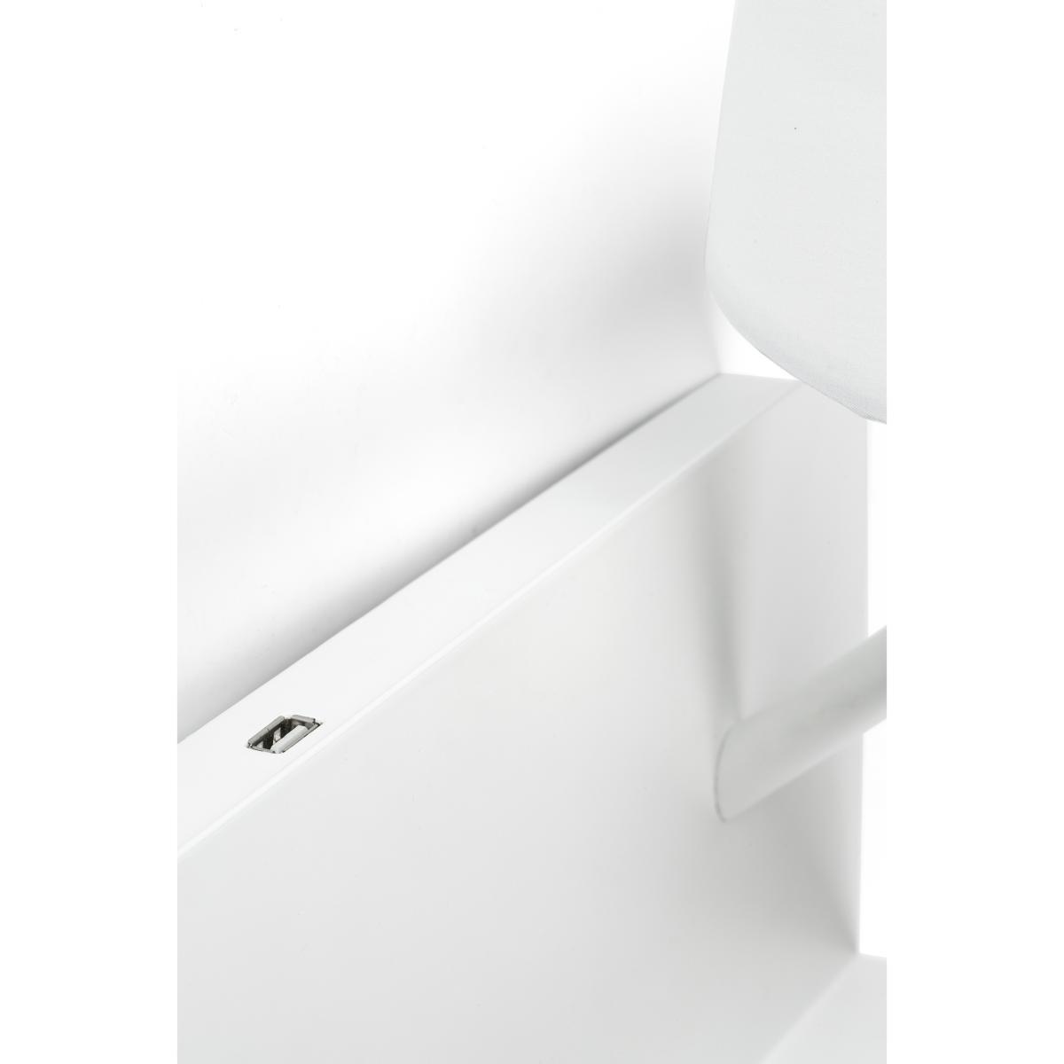 Applique liseuse gauche étagère LED port USB FARO Handy