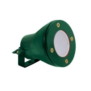 Spot Waterproof 12V IP68 Vert LED GU5.3 5W blanc chaud