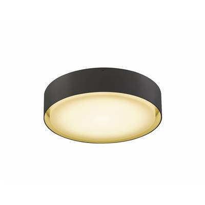 LIPA, plafonnier, anthracite, LED 24W 3000/4000K, IP54 SLV