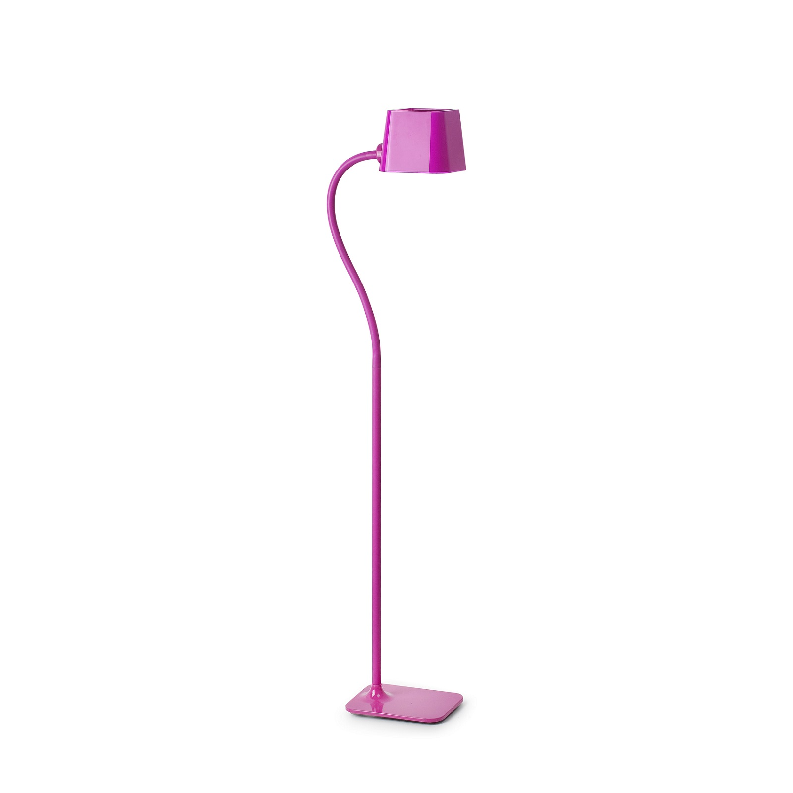 Lampadaire design int rieur flexi faro rose for Lampadaire interieur design
