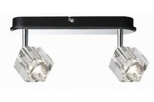 Réglette Ice cube PAULMANN  2x3W LED 230V Chrome