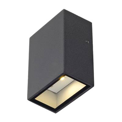 QUAD 1 applique, carrée, anthracite, LED, 1x3W, 3000K SLV