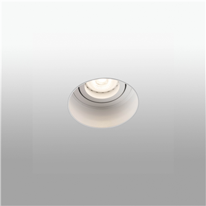Spot encastrable LED en retrait Hyde blanc mat Faro