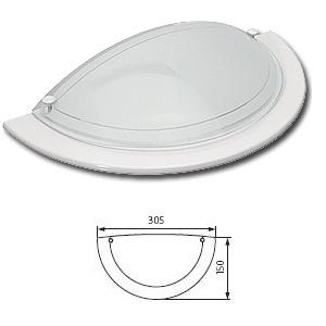Applique Murale Verre Pour Lampe 60w Maxi à Culot E27