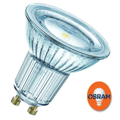 Blanc Parathom Gu10 Osram 827 Ampoule 4 50 Led 120° Chaud 3w Par16 A5jL4R