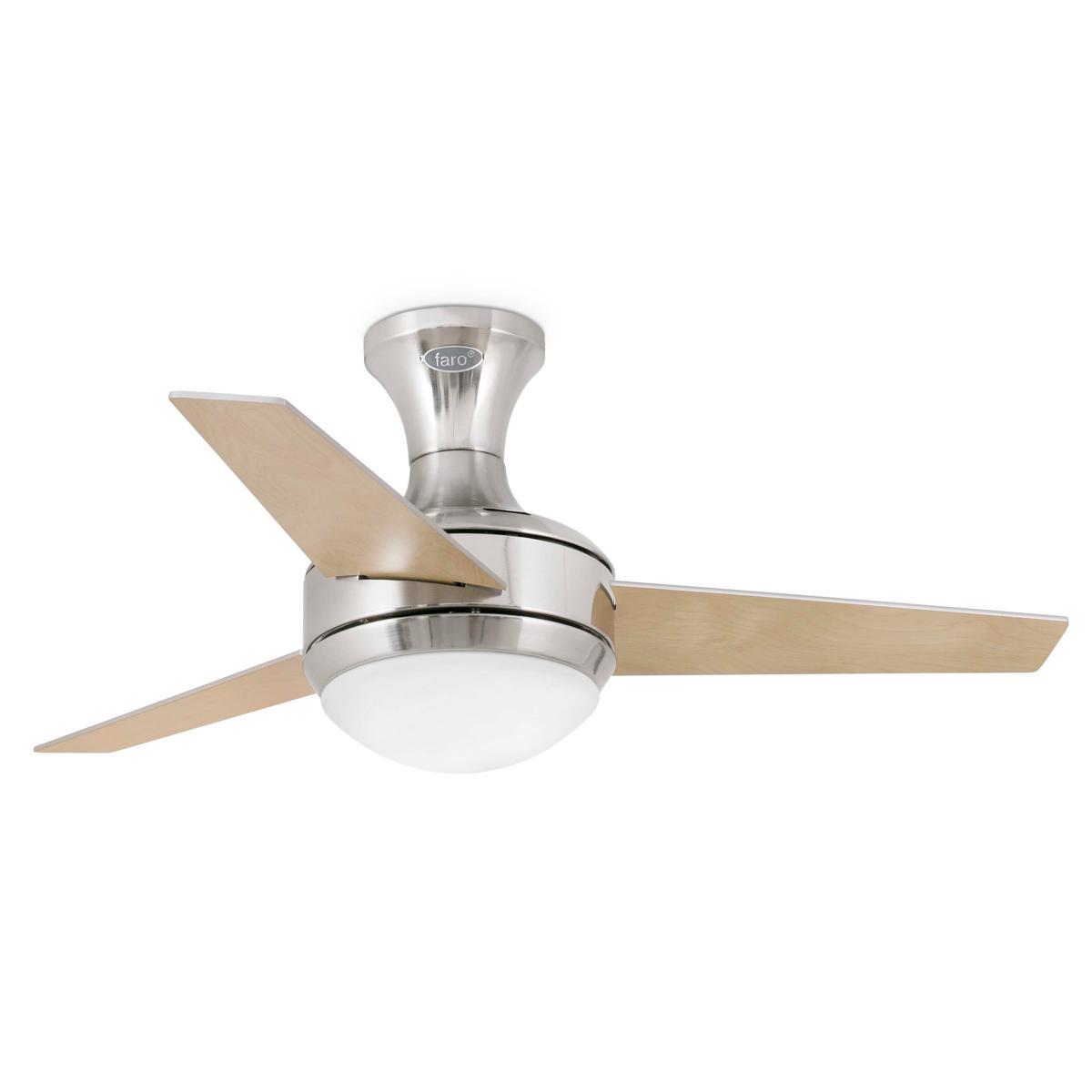 lustre ventilateur de plafond faro mini ufo 33455. Black Bedroom Furniture Sets. Home Design Ideas