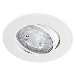 spot led extra plat blanc aric 5 5w 40 230v blanc chaud. Black Bedroom Furniture Sets. Home Design Ideas