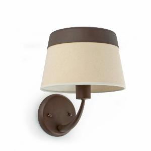 Applique SAC FARO max 1x60W E27 230V  Marron/Beige