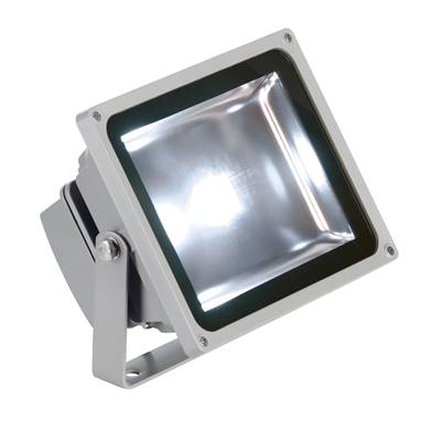 LED OUTDOOR BEAM, gris argent, 30W, 5700K, 100°, IP65 SLV