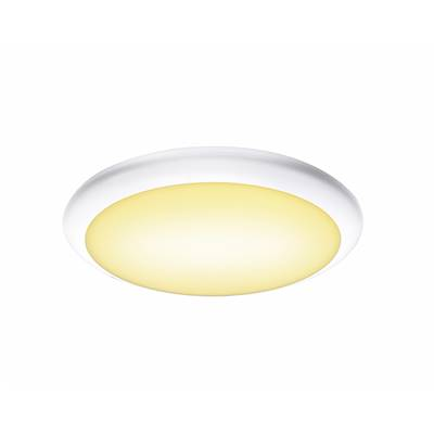 RUBA 10, applique/plafonnier blanc, LED 13W 3000/4000K, IP65 SLV