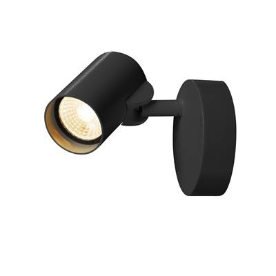 HELIA LED Simple, applique/plafonnier, noir, LED 11W 3000K, 35° SLV