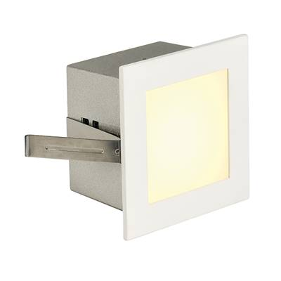 FRAME BASIC LED encastré, carré, blanc mat, LED 3000K SLV