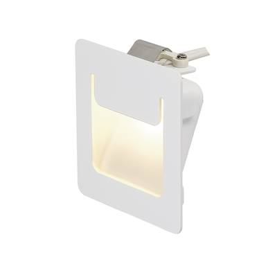 DOWNUNDER PUR 80 encastré, carré, blanc, 3,6W LED 3000K, 80x80mm SLV