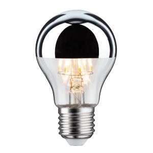 Blanc Led E27 Calotte Paulmann Filament Chaud Argentée 28375 7 5w Lampe UVGqSzpM