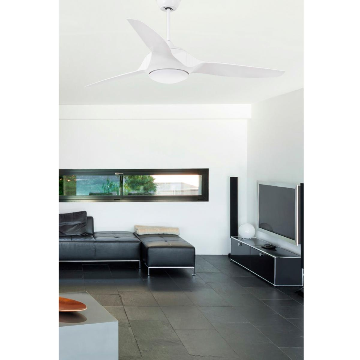 lustre ventilateur de plafond faro kailua led 33408. Black Bedroom Furniture Sets. Home Design Ideas