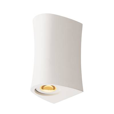 PLASTRA UP/DOWN, applique, plâtre blanc, LED 6,6W, 3000K SLV