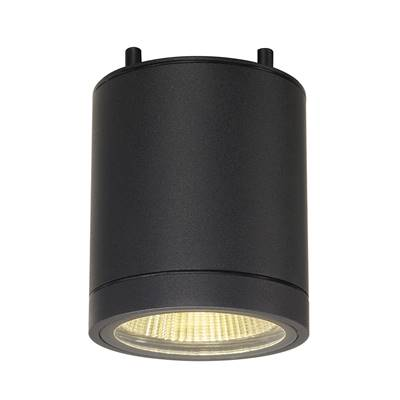 ENOLA_C, plafonnier, rond, anthracite, LED 9W 2000-3000K, 35°, Dim to warm SLV
