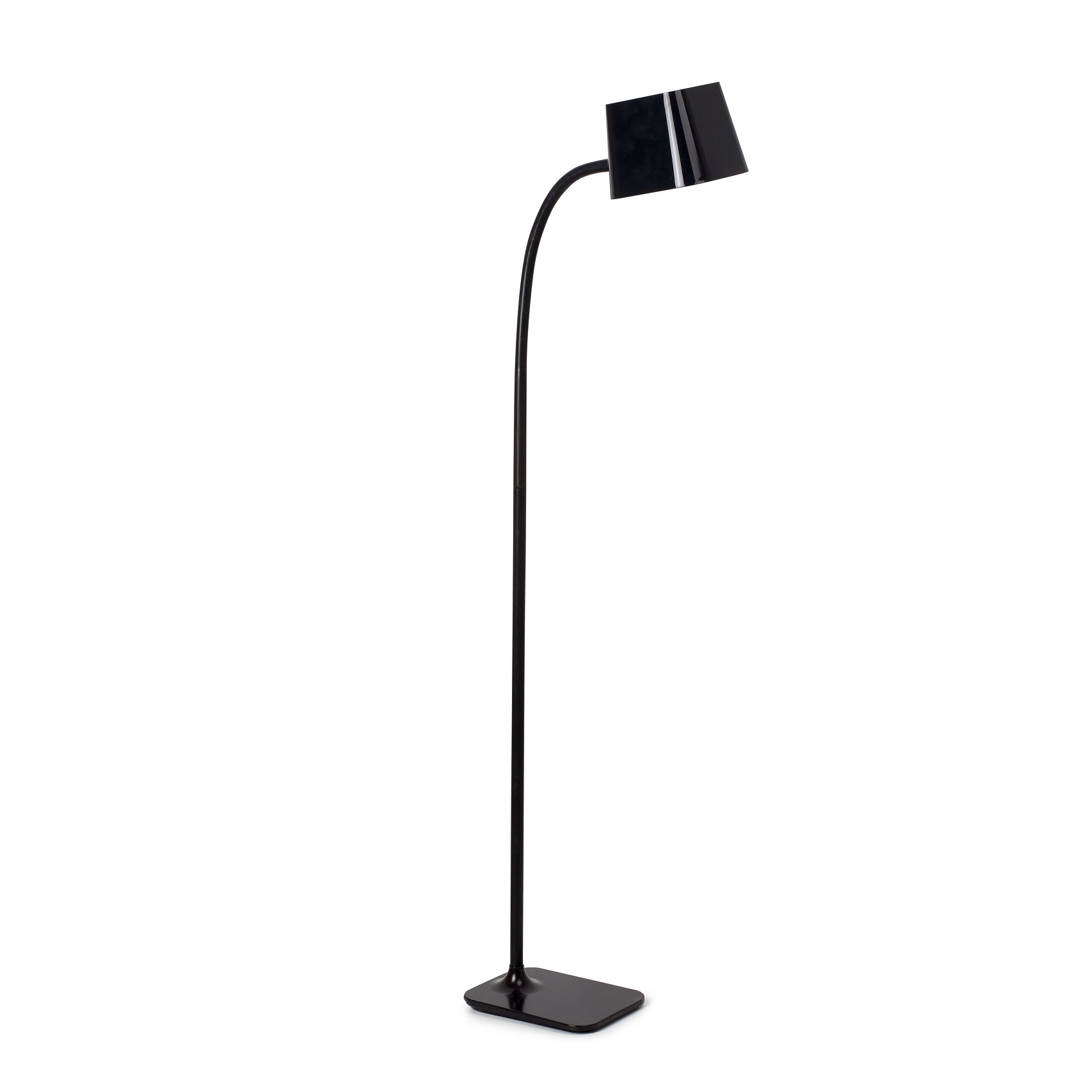Lampadaire design int rieur flexi faro noir for Lampadaire interieur design