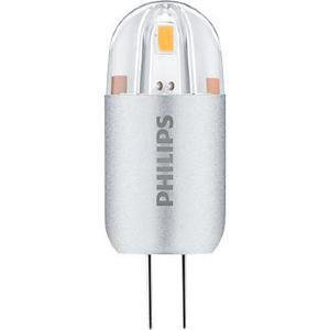 LED capsule COREPRO PHILIPS G4 1.2W rendu 10W Blanc chaud 3000 K