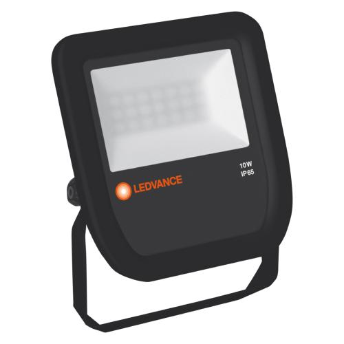 Projecteur LED exterieur 10W Noir LEDVANCE OSRAM IP65 3000K Floodlight