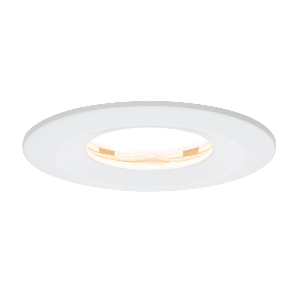 spot led ip65 encastrable dimmable slim coin 6 8w 230v paulmann 93881. Black Bedroom Furniture Sets. Home Design Ideas