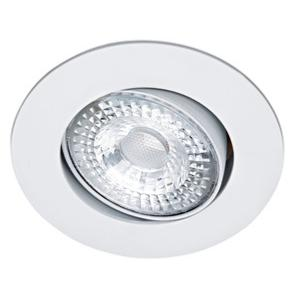 Spot LED extra-plat ARIC Orientable 5.5W 36° 230V Blanc chaud