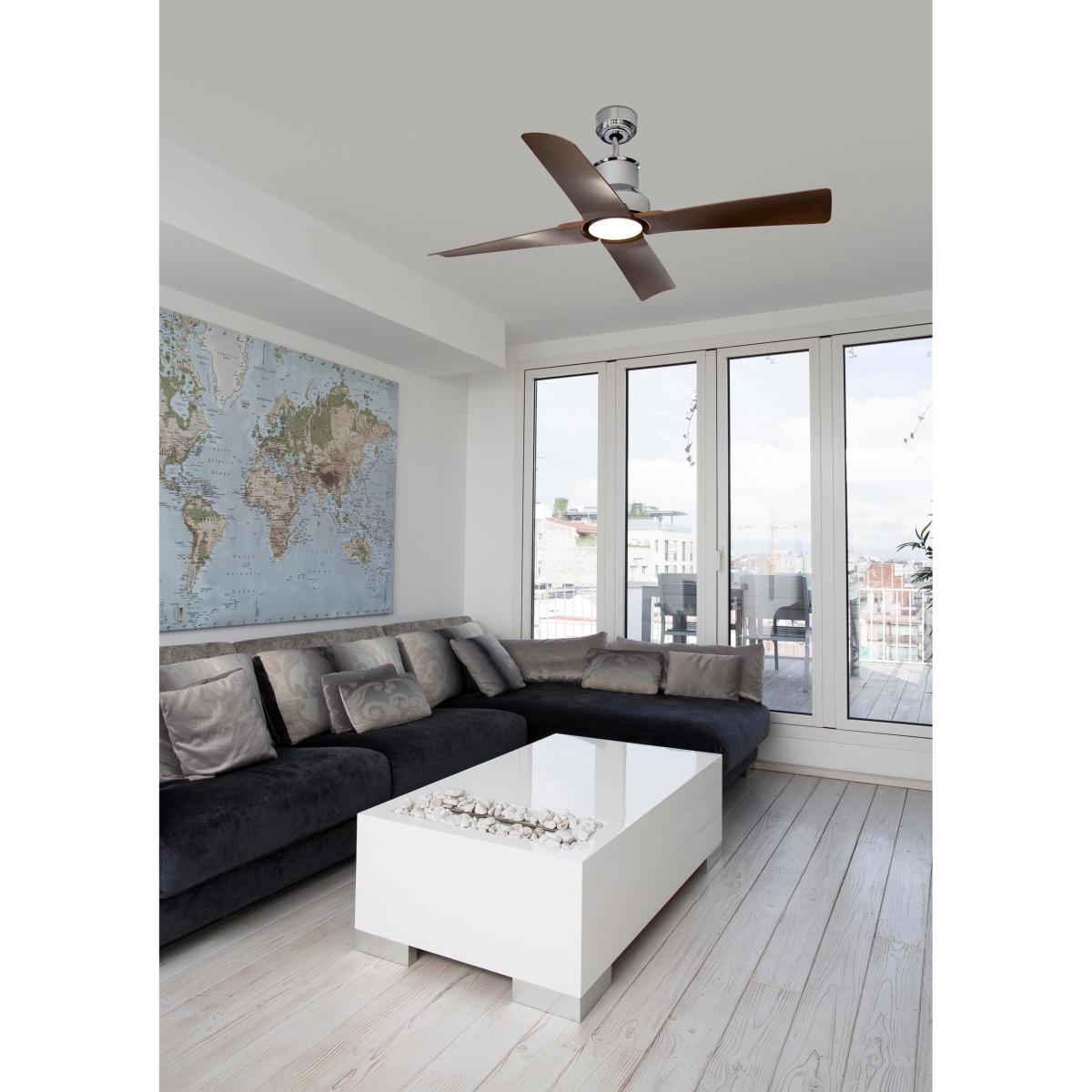 ventilateur de plafond faro winche 33482. Black Bedroom Furniture Sets. Home Design Ideas