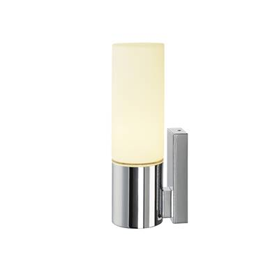 DEVIN SIMPLE LED, applique, rond, chrome, verre satiné SLV