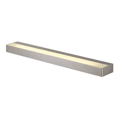 SEDO 14 LED, applique, carrée, alu brossé, verre satiné SLV