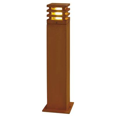 RUSTY LED 70 CARRE, borne, fonte rouillée, LED 3000K, IP55 SLV