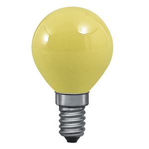 6d3d81f55aa54 Lampe incandescente couleur jaune Sphérique Krypton 25W E14 PAULMANN