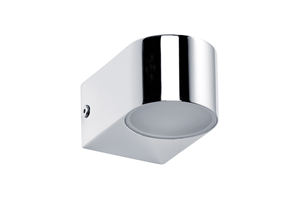 Applique led Salle de Bain PAULMANN IP44 2X3.5W 230V Chrome