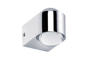 Applique Capella LED  Salle de Bain PAULMANN IP44 2X3.5W 230V Chrome