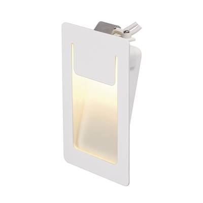 DOWNUNDER PUR 120 encastré, carré, blanc, 3,6W LED 3000K, 80x120mm SLV
