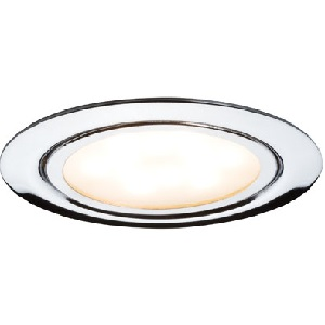 Spot led extra plat encastrable 4.5W rendu 35W Chrome PAULMANN. IP20