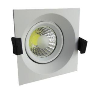 Spot led encastrable 8W rendu 50W Blanc neutre 4500K