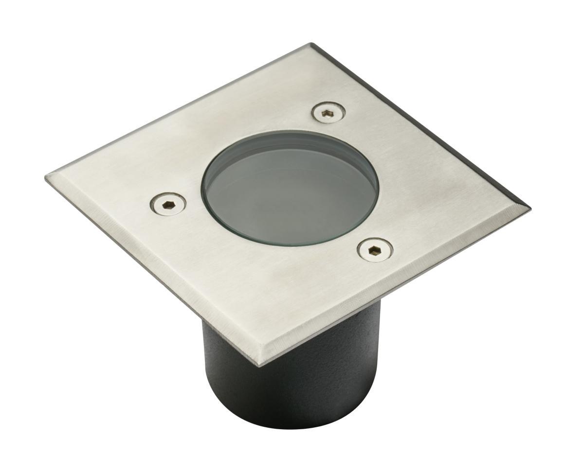 Spot exterieur ip67 mini 230v pour led gu10 acier bross - Spot pour exterieur ...