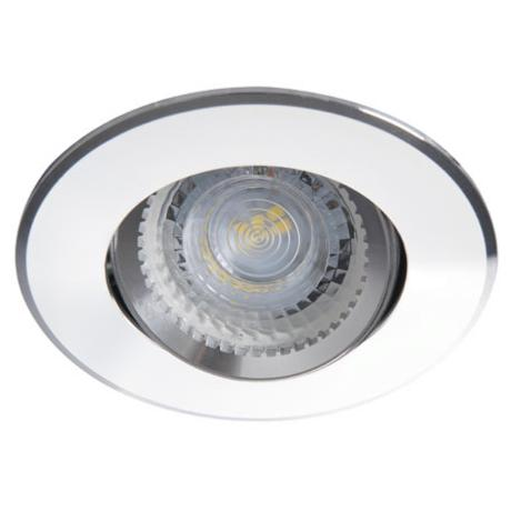 Spot encastrable pour LED. Orientable rond Chrome brillant Kanlux
