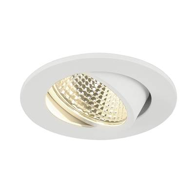 KIT NEW TRIA LED DL ROND, encastré, blanc mat, 5,3W, 3000K, 38° SLV