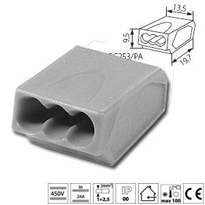 domino electrique connecteur rapide domino pour cable lectrique. Black Bedroom Furniture Sets. Home Design Ideas