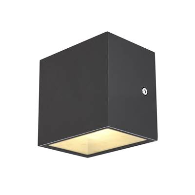SITRA CUBE WL, applique/plafonnier anthracite, LED 10W 3000K, IP44 SLV