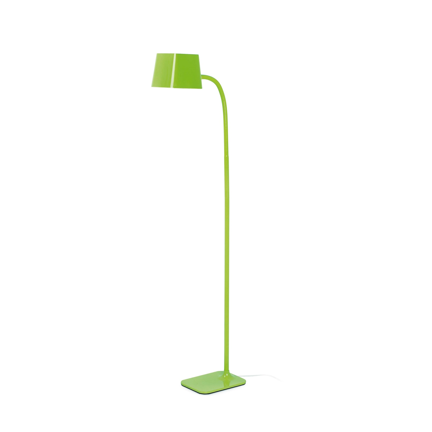 Lampadaire design int rieur flexi faro vert for Lampadaire interieur design