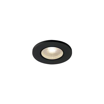 KAMUELA ECO LED, encastré, noir, LED 6,5W 3000K, 38°, variable, IP65 SLV