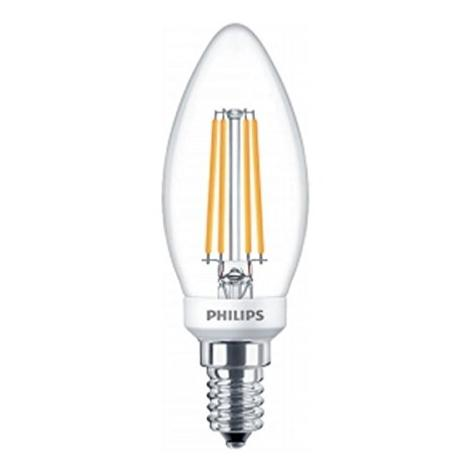 Ampoule LED Philips Classic LEDcandle 5-40W E14 827 dimmable