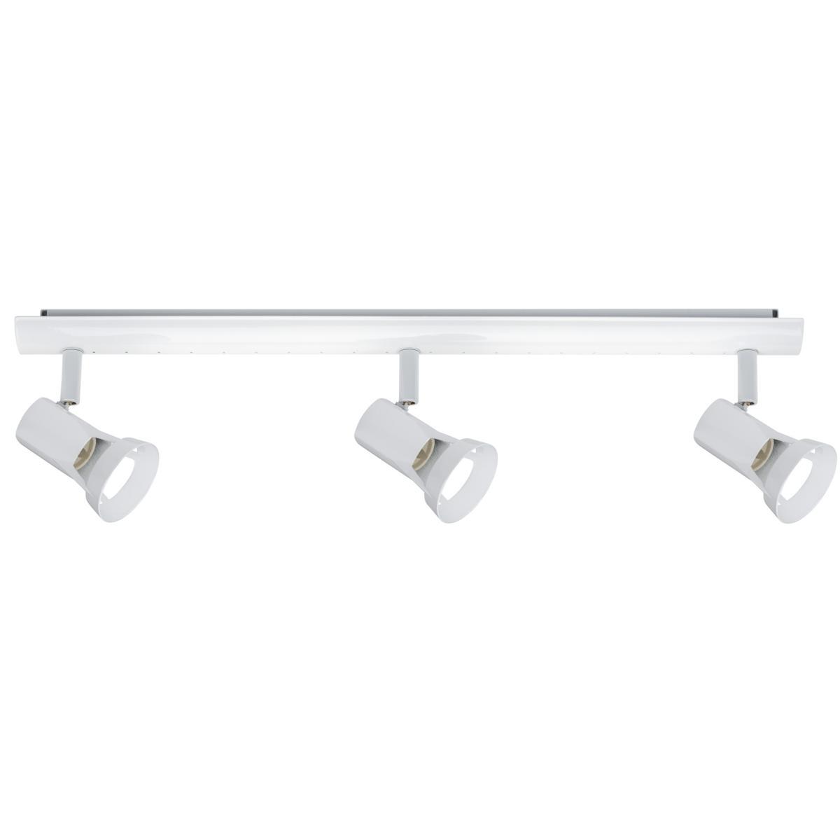 plafonnier teja paulmann 3 spots gu10 230v blanc 66704. Black Bedroom Furniture Sets. Home Design Ideas