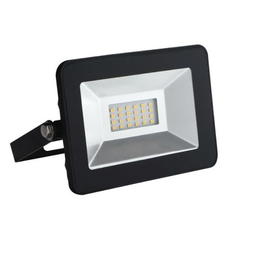 Projecteur LED 10W exterieur Noir SLIM IP65 Blanc Neutre 4000K