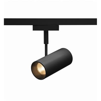 REVILO, spot, noir, LED 3000K, 36°, adaptateur rail 2 allumages inclus SLV
